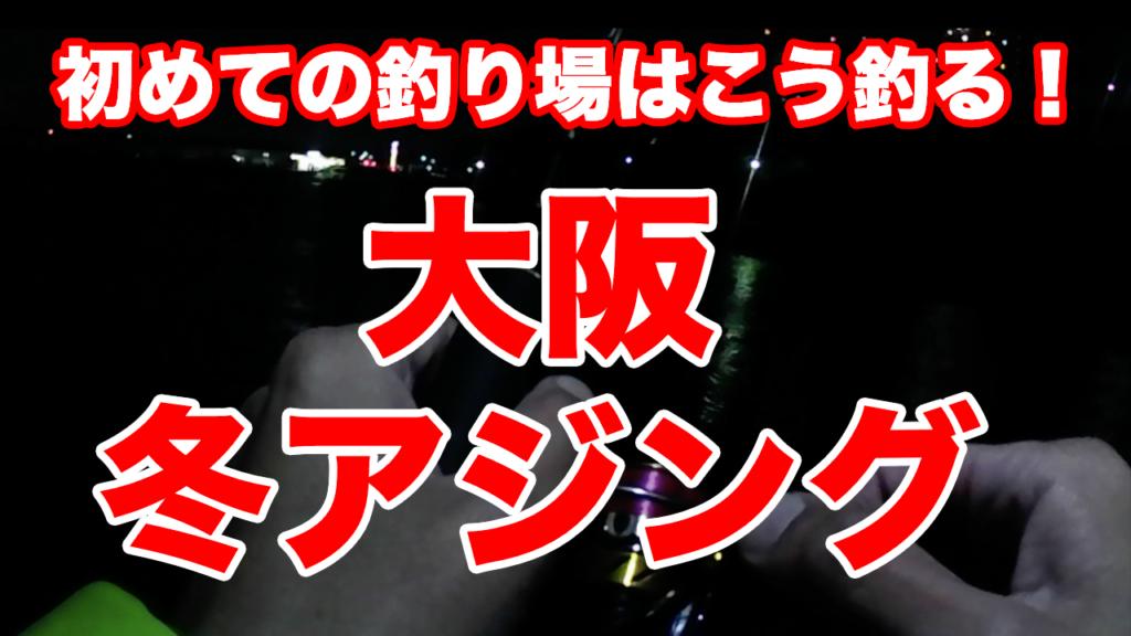 冬のアジング攻略【2020/01/9】泉大津なぎさ公園【溶存酸素量の話】